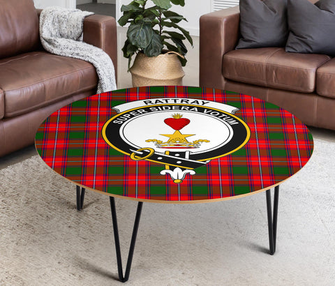Rattray Clans Cofee Table BN