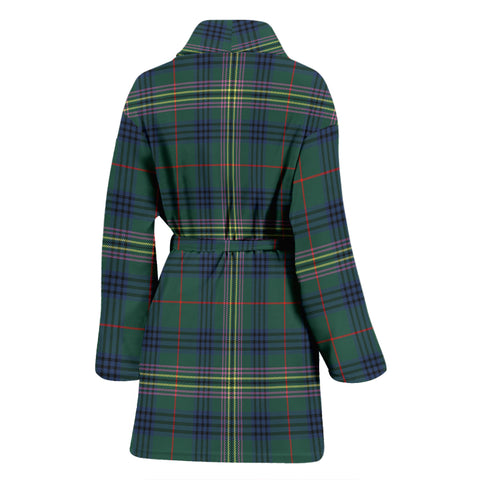 Image of Kennedy Modern Bathrobe - Women Tartan Plaid Bathrobe Universal Fit