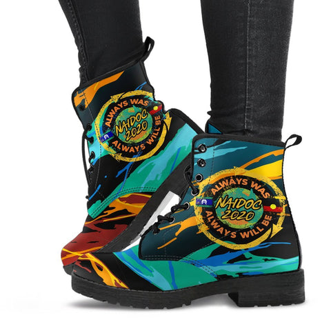 Image of Australia  Leather Boots - Naidoc Always Was, Always Will Be - BN17