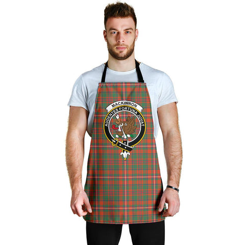 MacKinnon Ancient Tartan Clan Crest Apron HJ4