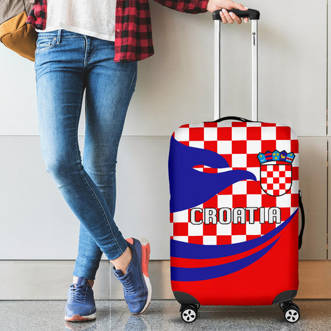 Croatia Luggage Covers Proud Version