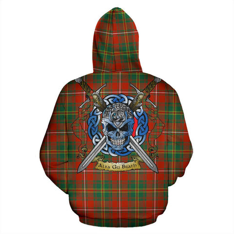 Image of Hay Ancient Tartan Hoodie Celtic Scottish Warrior A79 | Over 500 Tartans | Clothing | Apaprel