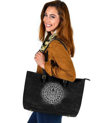 Viking Wolf Large Leather Tote A31