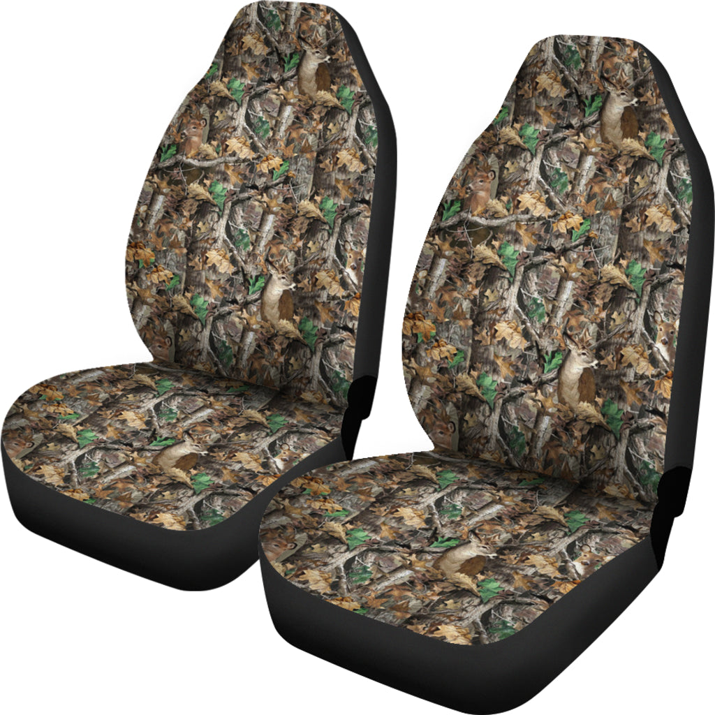 Camo Car Seat Covers Deer Hunting Tap To Expand
