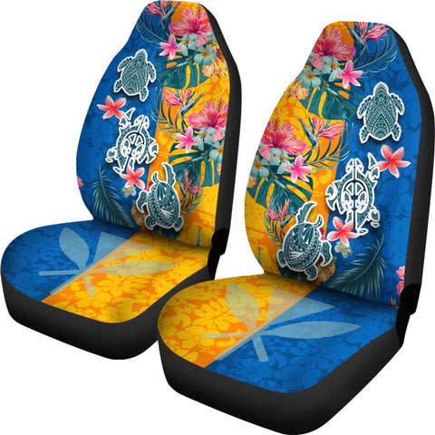 Hawaii Car Seat Covers Polynesian Turtle Special | 1sttheworld