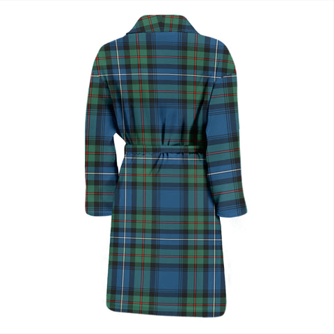 Robertson Hunting Ancient Tartan Men's Bath Robe - BN04