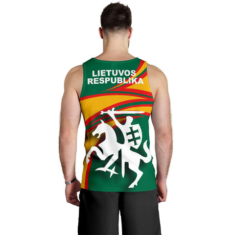Lithuania Men's Tank Top N Flag A15