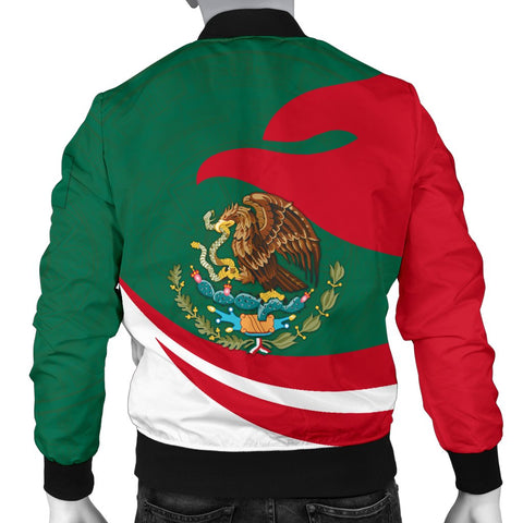 Image of Mexico Men Bomber Jacket Proud Version | 1sttheworld