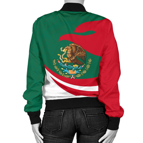 Mexico Women Bomber Jacket Proud Version | 1sstheworld