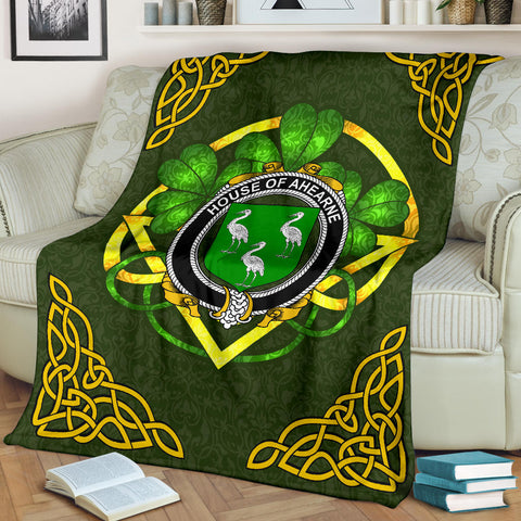 Ahearne (Aherne) Ireland Premium Blanket | Home Set | Special Custom Design