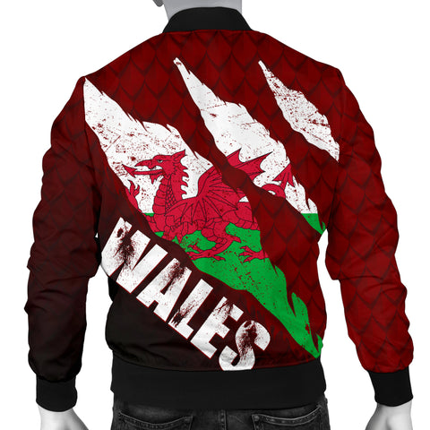 Welsh Bomber Jacket - Dragon Eyes (Men) A02