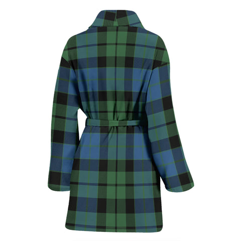 Mackay Ancient Tartan Women's Bathrobe - Bn03