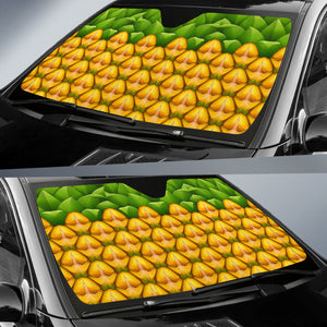 Pineapple Pattern Auto Sun Shades J8