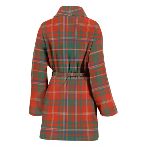 Macdougall Ancient Bathrobe - Women Tartan Plaid Bathrobe Universal Fit