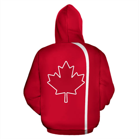 Image of Canada Hoodie Maple Leaf - Volleyball Style TH5