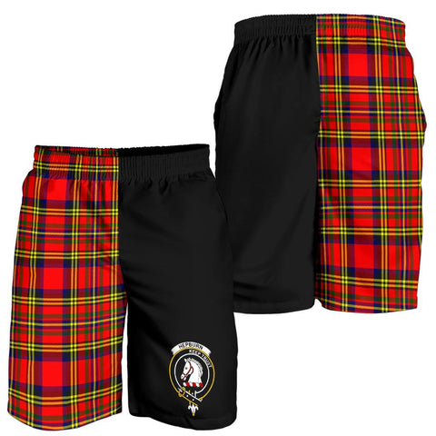 Hepburn Tartan Men Shorts Half Of Me K7