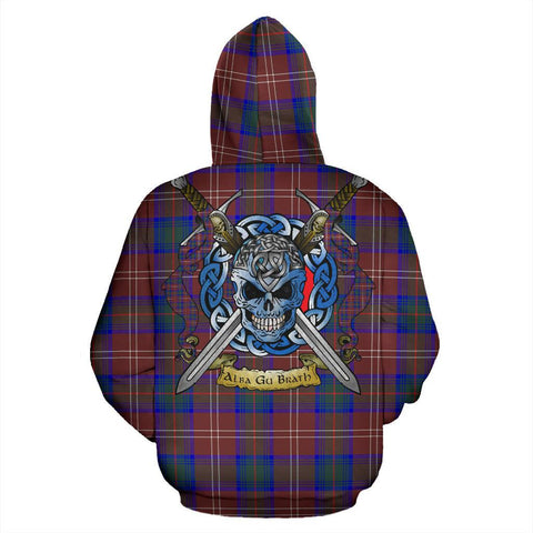 Chisholm Hunting Modern Tartan Hoodie Celtic Scottish Warrior A79 | Over 500 Tartans | Clothing | Apaprel