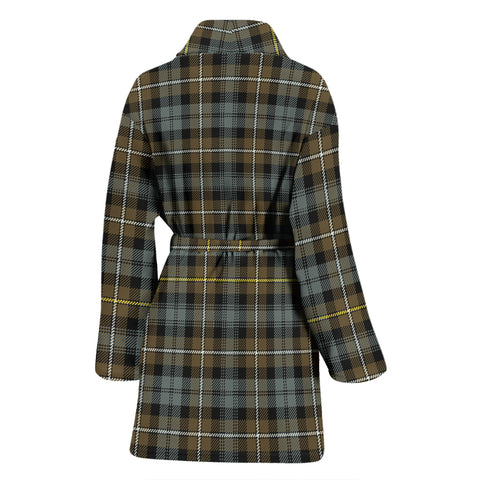 Campbell Argyll Weathered Bathrobe - Women Tartan Plaid Bathrobe Universal Fit