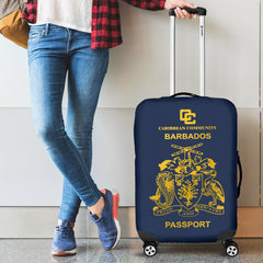 Barbados Luggage Cover - Barbados  Passport - BN04
