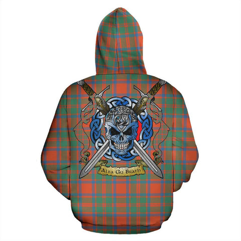 MacKintosh Ancient Tartan Hoodie Celtic Scottish Warrior A79 | Over 500 Tartans | Clothing | Apaprel
