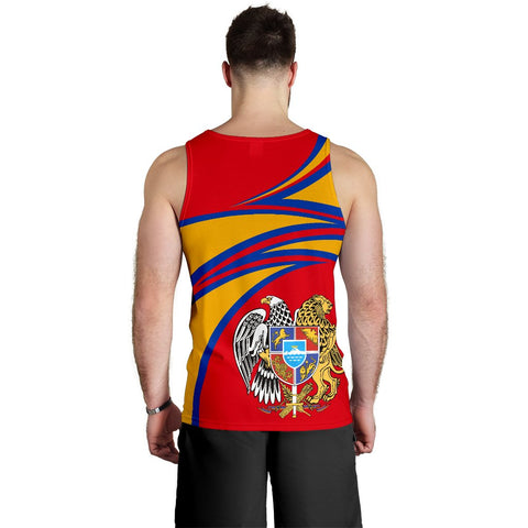 Image of Armenia Men's Tank Top A15