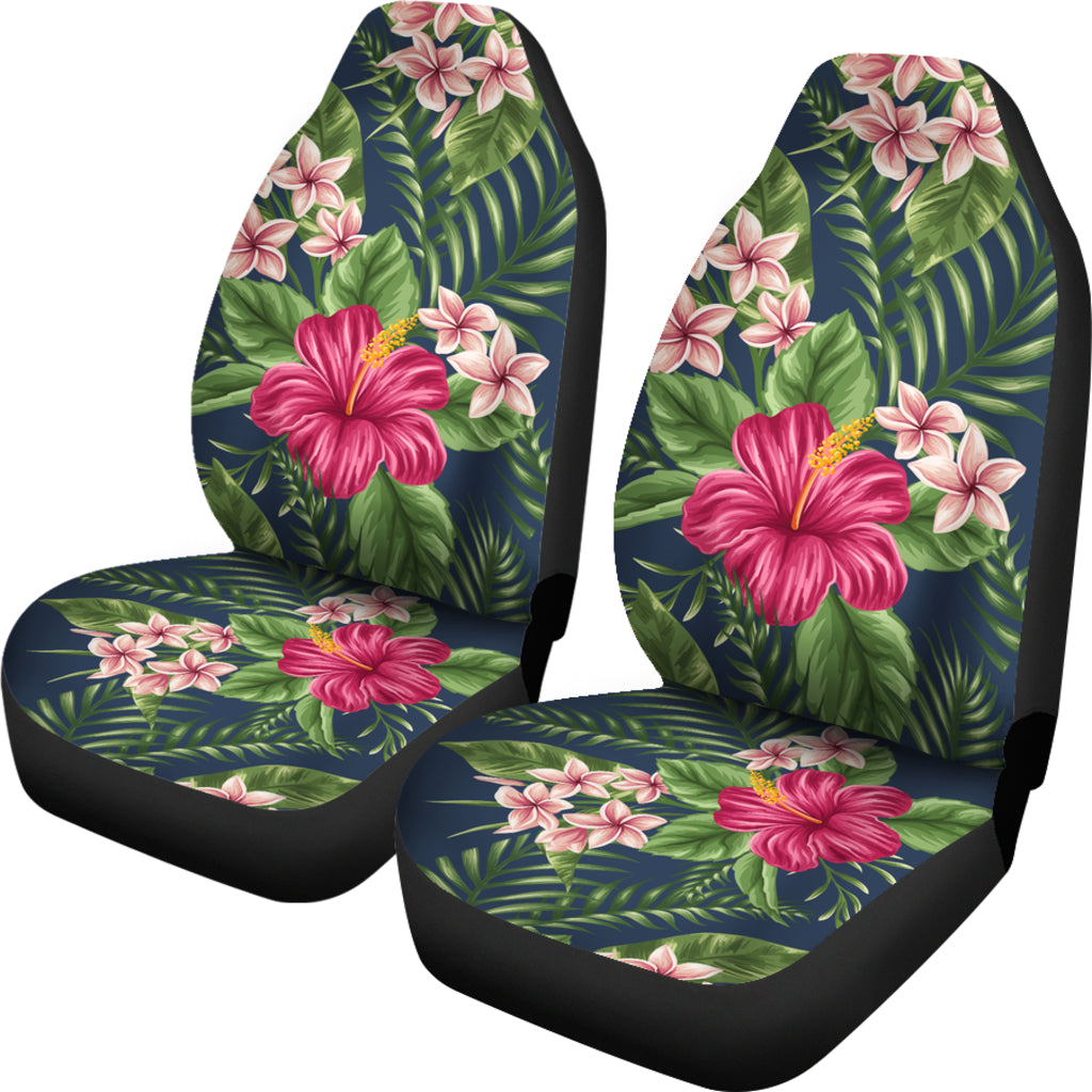 Hawaiian Car Seat Covers >> Hawaii Tropical Hibiscus Plumeria Car Seat Covers H9