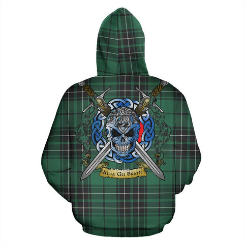 Image of MacLean Hunting Ancient Tartan Hoodie Celtic Scottish Warrior A79 | Over 500 Tartans | Clothing | Apaprel