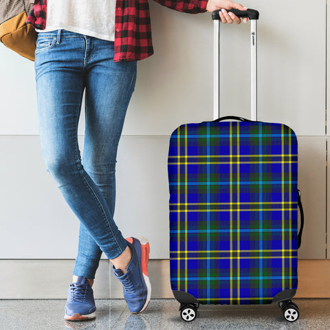 Image of Weir Modern Tartan Luggage Cover Hj4 | Love The World