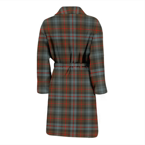 Image of Murray Of Atholl Weathered Tartan Men's Bathrobe - Bn04