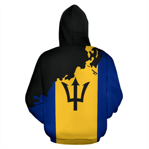 Image of Barbados Painting Hoodie - Unique Style TH5