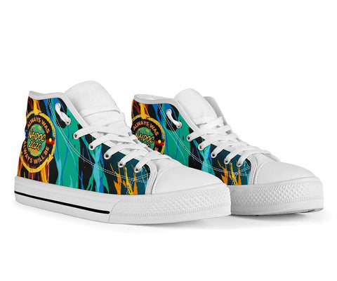 Image of Australia High Top Shoe 2 - Naidoc Always Was, Always Will Be - BN17