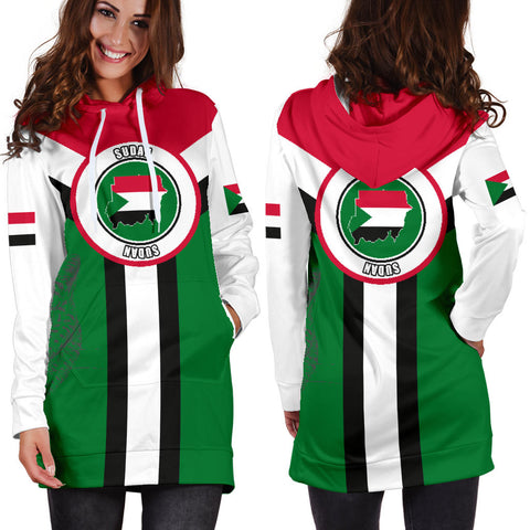 Sudan Hoodie Dress Rising Women A10