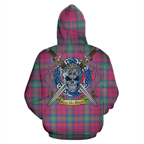 Image of Lindsay Ancient Tartan Hoodie Celtic Scottish Warrior A79 | Over 500 Tartans | Clothing | Apaprel