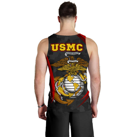 US Marine Corps Men's Tank Top - US Marine Corps Spirit - BN1518