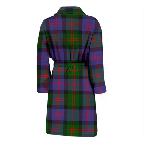 Blair Modern Tartan Men's Bath Robe