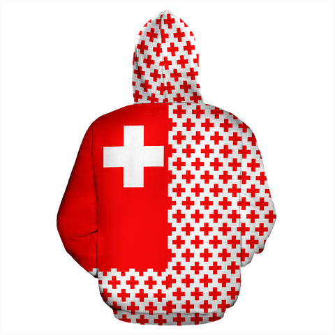 Switzerland Hoodie Half Style TH2