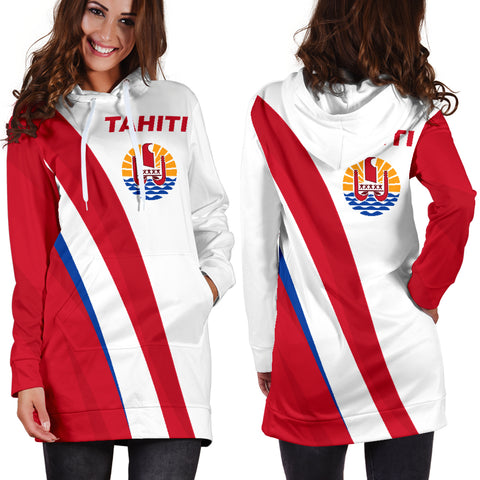 Tahiti Hoodie Dress K5 |Women's Clothing| 1sttheworld