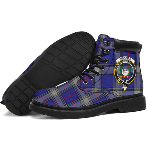 Kinnaird Tartan Clan Crest All-Season Boots HJ4