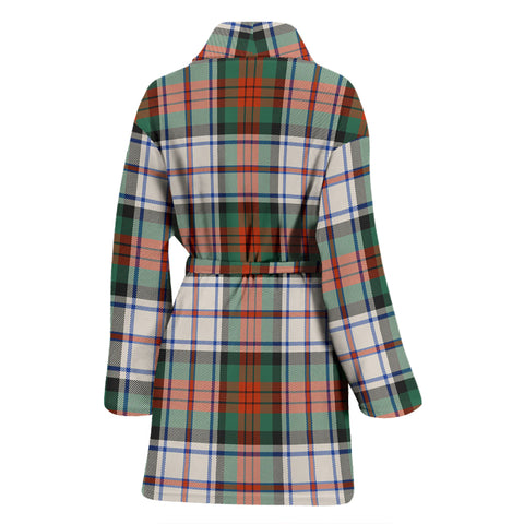 Macduff Dress Ancient Bathrobe - Women Tartan Plaid Bathrobe Universal Fit