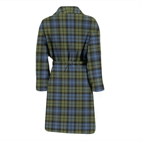 Image of Campbell Faded Tartan Men's Bathrobe - Bn04