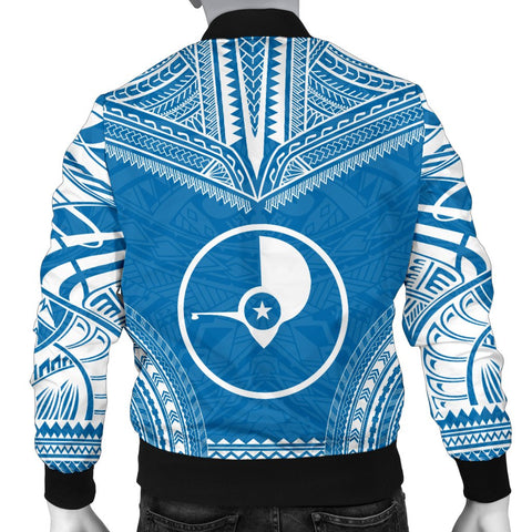 Yap Flag Polynesian Chief Men's Bomber Jacket