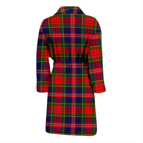 Image of Macpherson Modern Bathrobe - Men Tartan Plaid Bathrobe Universal Fit