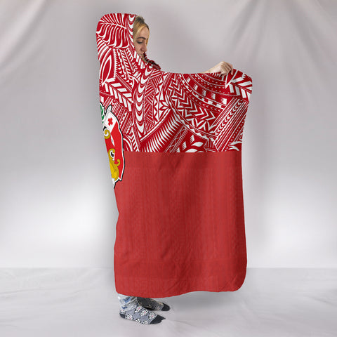 Image of Tonga Hooded Blanket - BN09