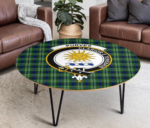 Purves Clans Cofee Table BN