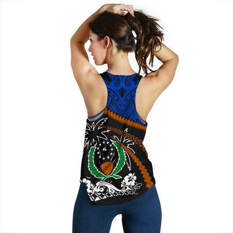 Pohnpei Women Racerback Tank - Road to Hometown K4