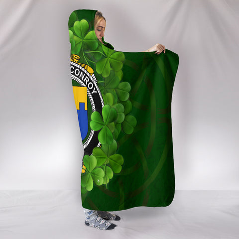 CONROY (O'MULCONRY) Ireland Hooded Blanket A9