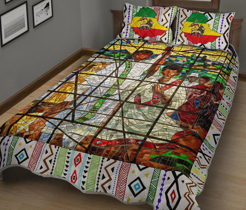 Image of Ethiopia Quilt Bed Set, Ethiopian Orthodox A10