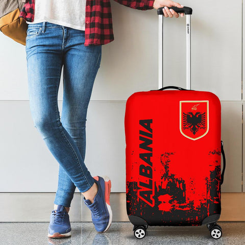 Albania  Luggage Cover - Smudge Style - BN1510
