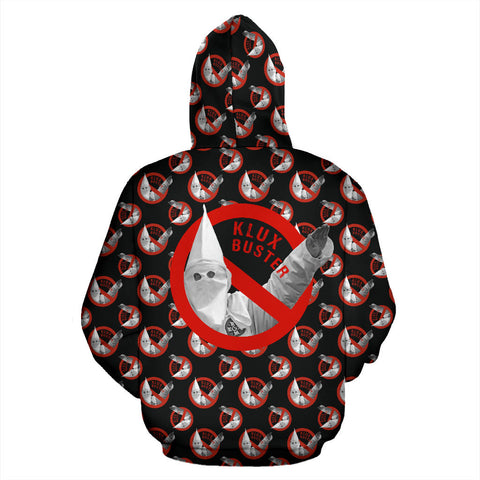 Anti KKK - Klux Buster Zip Hoodie | Clothing