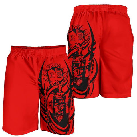 Image of Albania Shorts - Illyrian Albanian Warrior A7